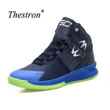 2016 Hot Sale Men Basketball Shoes Brand Anti-Slippery Basketball Shoes Sneakers Shockproof Design Basketball Shoes(China)