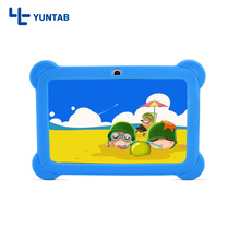 "Yuntab 7"" Dual Camera Q88 Pad Allwinner A33 Quad Core 1.5GHz tablet PC 8GB bluetooth wifi add Silicone Case(China)"