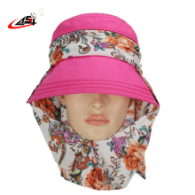 Asy Direct Selling Floral Outdoors Research Sun Cap Women Gorro Toca Large Brim  Fishing Chapeau Bucket Summer Hat Panama