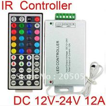 12A 12V-24V DC IR remote 44 Keys controller for LED RGB Strip Light