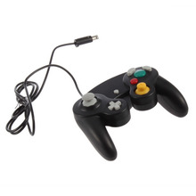 in stock!!!1 Pc Game Shock JoyPad Vibration For Nintendo for Wii GameCube Controller for Pad gaming Gamepads