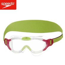 Speedo Sea Squad Mask For 2-6 Years Children Kids Swim Goggles Anti-fog Lens Biofuse Anti UV Protection Boy's Girls's