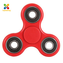 6 Color Hot Selling Funny Top Spinner ABS Toy Finger Fidget Spinner  Hand Spinner Classic For Boys and Girls Autism and ADHD