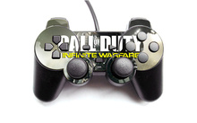 COD Vinyl Skin Sticker Protector for Microsoft PS2 Wired Controller Skins Stickers For PS2 CON-001(China)