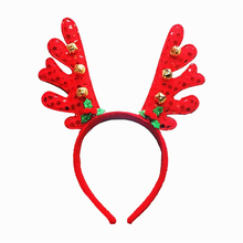 DIVV christmas hat Christmas Santa Claus Plush Hat Antlers Fancy Dress Costume Accessory hot sale*30 GIFT 2017 1pc Drop shipping