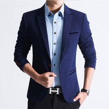 men blazer spring 2016 Men's Slim suit job male wedding suit large size M-5XL suit jacket cool fashion blazer us349