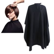 New 1Pc Black Waterproof Barbers Hairdressing Hairdresser Hair Cut Gown Cloth Cutting Apron(China)