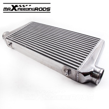 Universal Front Mount Intercooler Bar and Plate 600x300x76mm 3 inch In/outlet Aluminum alloy Inter cooler(China)