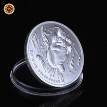 WR Birthday Souvenirs Silver Coin High Quality African Coins Animal Alloy Challenge Coin African Commemorative Art Crafts