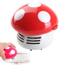 New Cleaning Brushe Mini Home Handheld Tabletop Vacuum Cleaner Mushroom Vacuum Car Laptop Dust cleaner(China)