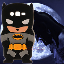 For Samsung Galaxy Core i8262 i8260 8262 Covers New Style 3D Cartoon Cute Batman Super Hero Series Soft Rubber Back Phone Cases