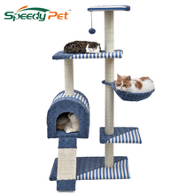 Domestic Deliver Cat Toys Cat Furniture Convenient Simple 6 Kinds  Interesting Toy Kittens Cat Climbing Tree Pet Kitten House