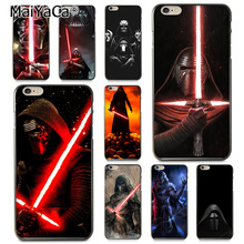 Buy MaiYaCa star wars kylo ren Darth Vader Coque Shell Phone Case Apple iPhone 8 7 6 6S Plus X 5 5S SE 5C Cover for $1.63 in AliExpress store