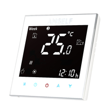 Thermoregulator Touch Screen Heating Thermostat for Warm Floor, Water, Electric Heating System Thermostat 16A 110~240V(China)