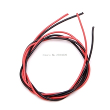16 AWG (2m) Gauge Silicone Wire Flexible Stranded Copper Cables for RC Black Red -B116