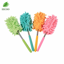 1Pcs Adjustable Magic Soft Microfiber Duster Dust Cleaner Handle Feather Static Extendable Length Household Cleaning Tools
