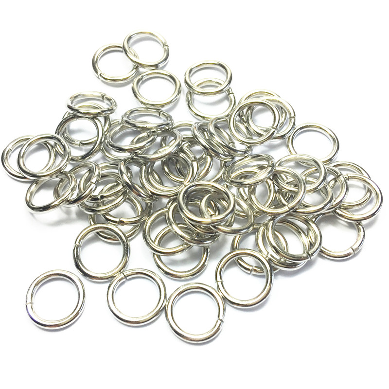 5-15mm silver metal o ring buckle