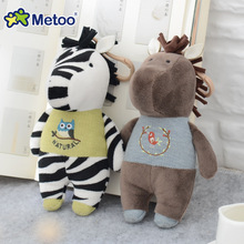 17cm Metoo Doll Kawaii Plush Sweet Cute Cartoon Stuffed Backpack Pendant Baby Kids Toys for Girls Birthday Christmas Sheep Horse