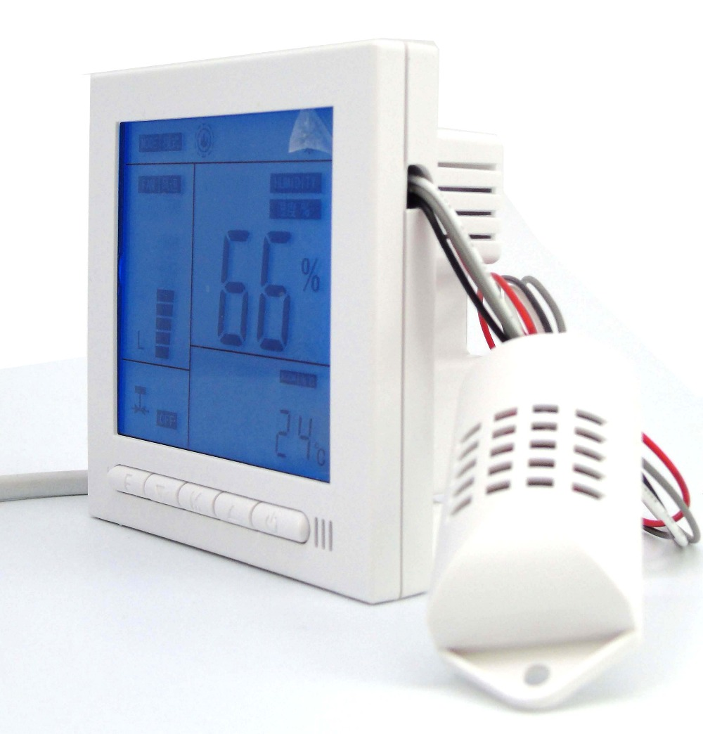 Home textile intelligent temperature and humidity controller with Independent control separate<br>
