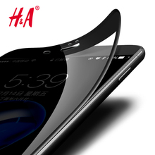 Buy H&A 3D Curved Soft Plastic Edge Coated Tempered Glass iPhone 7 8 Plus Screen Protector iPhone 8 8 plus Glass Film Cover for $1.41 in AliExpress store