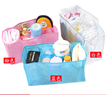 Hot sales Mummy bag bottle storage multifunctional Separate bag Tote Diaper Organizer