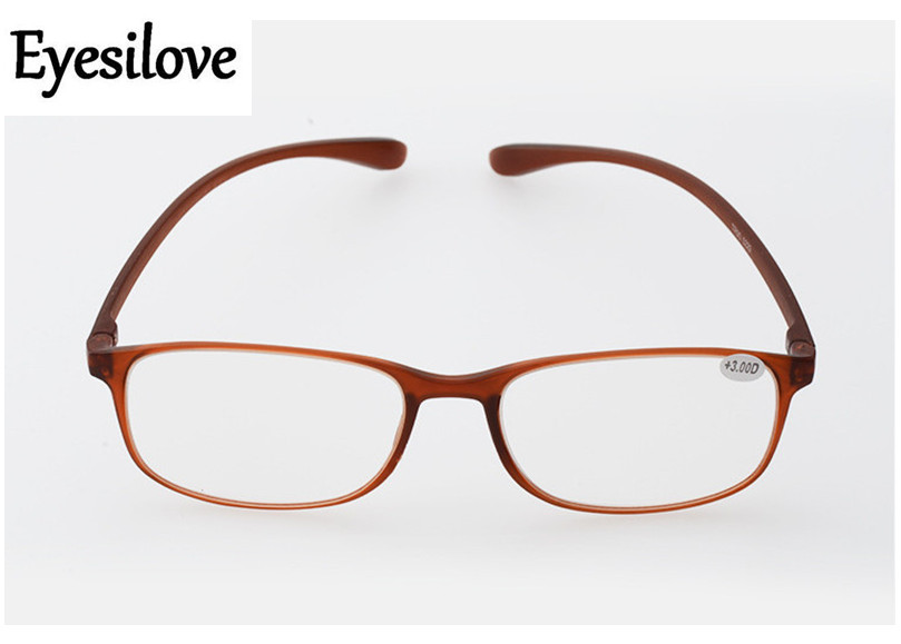 Eyesilove retail 1pcs TR90 reading glasses for men women presbyopia glasses lenses power +1.0 to +4.00 accept mixed order(China (Mainland))