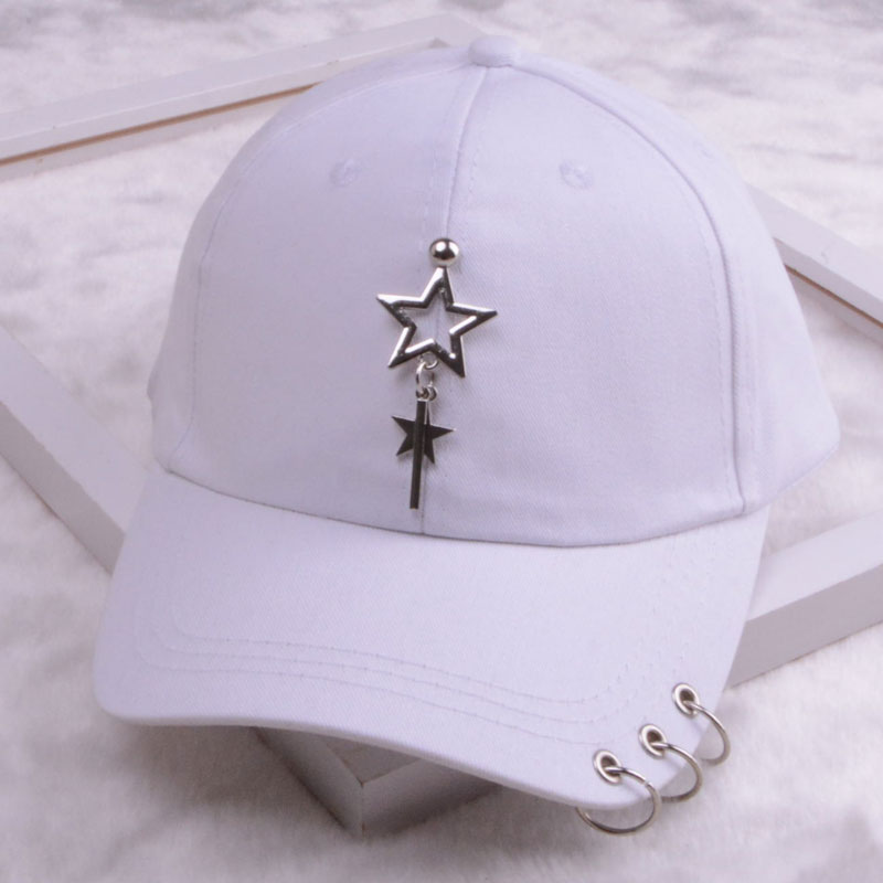 baseball cap with ring dad hats for women men baseball cap women white black baseball cap men dad hat (18)