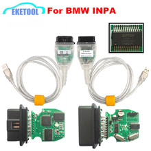 K+DCAN USB Interface INPA Compatible For BMW INPA K+CAN FT232RL Chip Excellent Function Auto Code Reader Tool Hot Sale