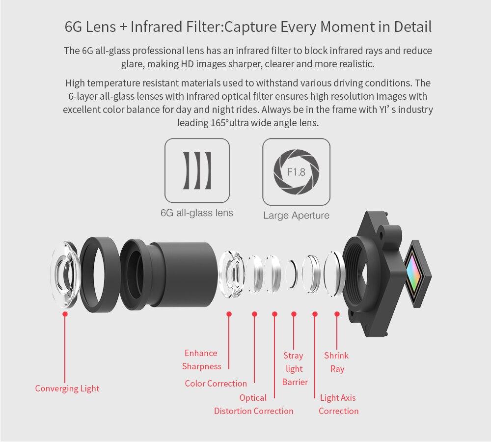 "HTB17VOoidknBKNjSZKPq6x6OFXa6 YI Smart Dash Camera Video Recorder WiFi Full HD Car DVR Cam Night Vision 1080P 2.7"" 165 Degree 60fps Camera For Car Recording"