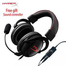 KINGSTON HyperX Cloud Core Gaming Headset Suitable for computer phone tablet Headphones With microphone(China)