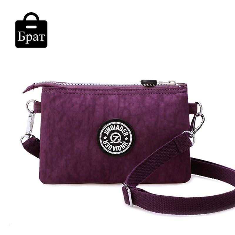 2016 clutch bag women messenger bags casual mini crossbody bag for girls waterproof nylon ladies handbags female high quality<br><br>Aliexpress
