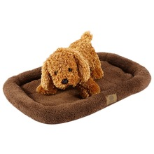 High Quality Soft Plush Dog Cat Pet Bed Cushion Puppy Mats Crate Cage Floor Mattress for Cars(China)