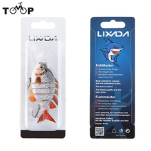 "Lixada 3"" 15g Pesca Crazy Panfish Series Multi Jointed 3D Lifelike Eyes Hard Fishing Lure Bait Swimbait with Treble Hook(China)"