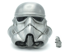 3D Starwars Stormtrooper Helmet Unique Color Belt Buckle