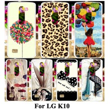 Hard Plastic Soft TPU Silicon Mobile Phone Case For LG K10 LTE K430 M2 F670 5.3'' K430DS Cover 18 Fashion Pictures Shell Housing
