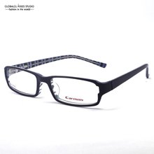 Last&New Fashionable Brand Design With Special Temple Men Dark Blue Hinge Student Optical Eyeglasses Frame LX-B2942