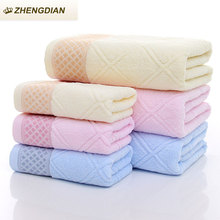 Zhengdian 2017 NEW 100% Cotton 2pcs/set Bath face Towels gift sets For Adults Fast Drying Soft  Absorbent air permeability towel