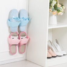 The sitting room defend bath wall-mountable receive frame Wave separating solid shoe rack wall shelving 25.3*7.2*7.5cm