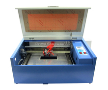 Latest LY Laser engraving machine C02 3040 with 50W laser tube laser cutter