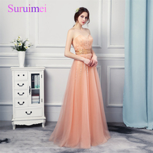 Real Photos Sparkling Rhinestones Coral Peach Color Evening Party Dresses Long Ruched Orange Cheap Long Prom Dresses 2017 Navi