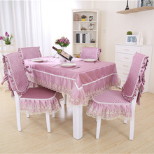 New Fashion Hot Sale Luxury Lace Table Cloth Home Coffee Table Cloth Restaurant Hotel Tablecloths Modern Style Table Cover(China)