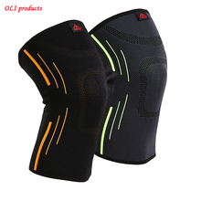 1 piece high quality breathable elastic basketball knee pad badminton running hiking outdoors sports knee support #SBT10(China)