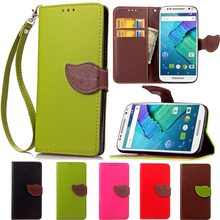 Leaf Clasp Leather Wallet Stand Flip Case For Motorola Moto G3 G2 G E2 E X+1 X Style X Play Credit Card Holder Protective Cover