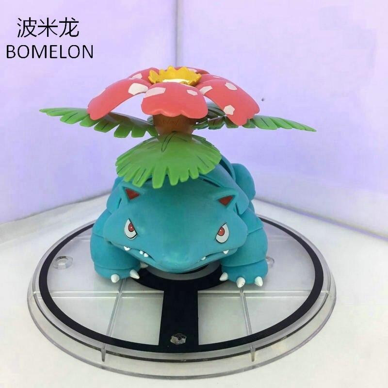 Venusaur Aciton Figures Pocket Monster Toys Anime Figure PVC Jointed Doll Pigures Kids Toys Boys Birthday Gifts<br>