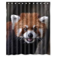 Brown Raccoon waterproof shower curtains bathroom products polyester 160x180cm bathroom shower curtain