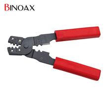 Binoax 4 in 1 Multi functional Snap Ring Pliers Portable Hand Crimping Tool Plier Terminals Crimpper
