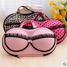 Travel cosmetic bag anti-pressure underwear pouch bra bag covered bra finishing box panties socks portable mobile Cosmetic Bags