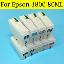 80ML ink cartridge for epson 3800 cartridge T5801-T5809 for Epson printer 3800(China)