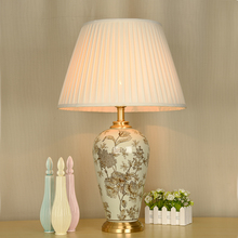 Bedroom vintage table lamp china living room Table Lamp for wedding decoration porcelain modern lamp table