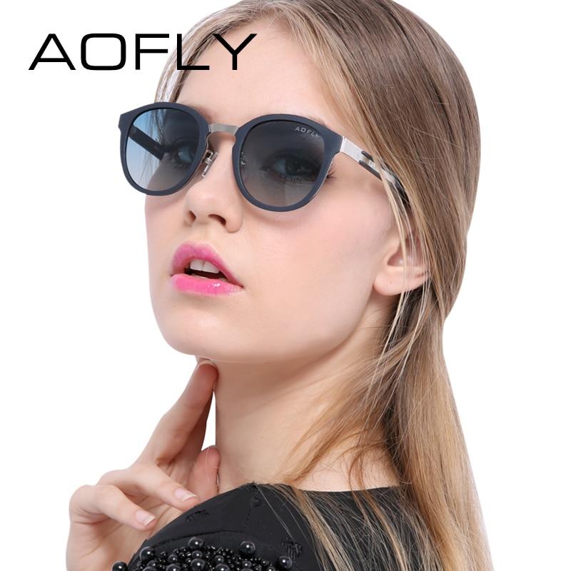 AOFLY Brand Fashion Oval Polarized Sunglasses Summer Sun Glasses Vintage Goggles Eyeglasses Retro Brand Designer Black Frame<br><br>Aliexpress
